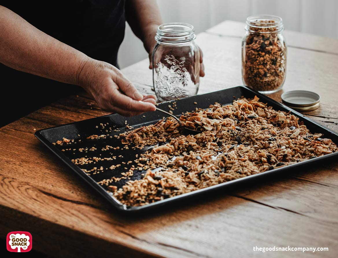 Vegan Granola Recipe - The Good Snack Company - Healthy Snacks