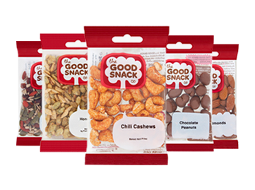 Good Snack Company - Product Range