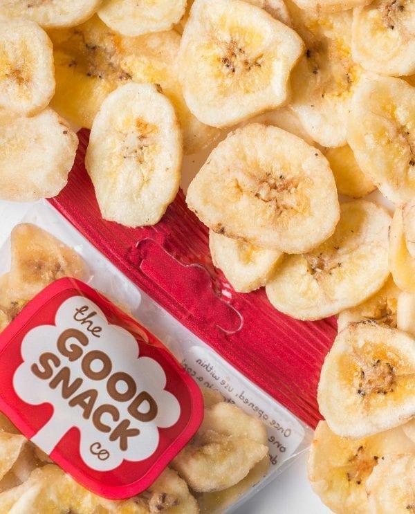 Banana Chips - Healthy Snacks - The Good Snack Company