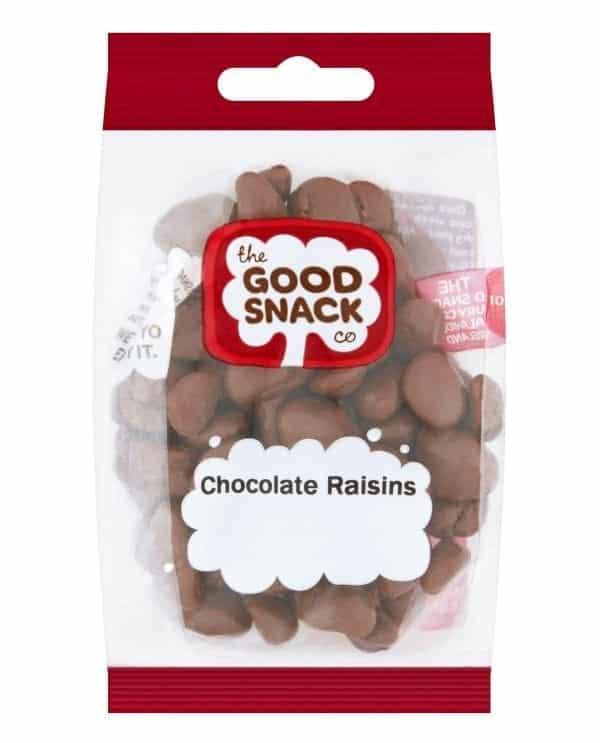 Chocolate Raisins - Share - The Good Snack Company