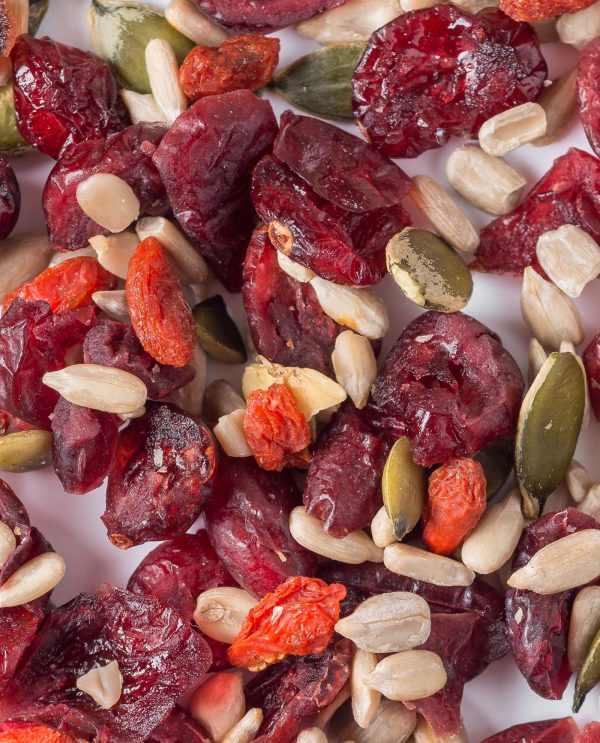 Cranberry, Goji and Seed Mix - Healthy Snacks - The Good Snack Company