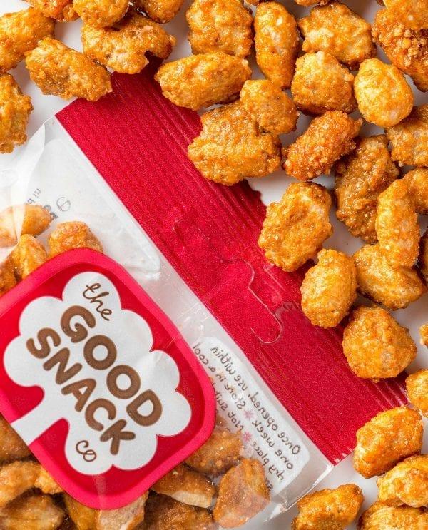 Honey Chili Peanuts - Healthy Snacks - The Good Snack Company