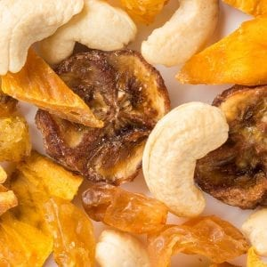 Mango, Banana and Cashew Mix - Healthy Snacks - The Good Snack Company