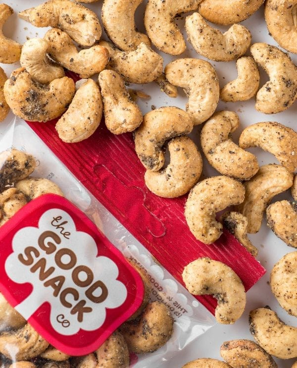 Salt and Pepper Cashews - The Good Snack Company