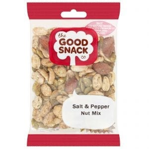 Salt and Pepper Nut Mix - Healthy Snacks - The Good Snack Company