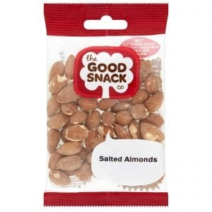 Salted Almonds - Healthy Snacks - The Good Snack Company