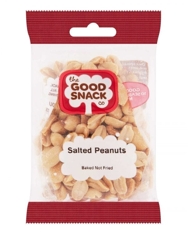 Salted Peanuts - Healthy Snacks - The Good Snack Company
