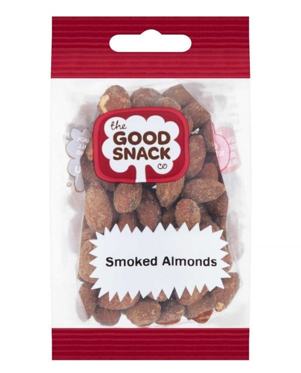 Smoked Almonds - Share - The Good Snack Company
