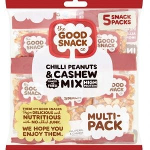 Chili Peanut and Cashew - Multipack - The Good Snack Company