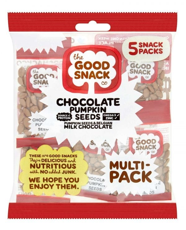 Chocolate Pumpkin Seeds - Multipack - The Good Snack Company