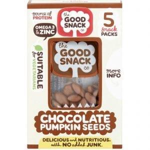 Cholocate Pumpkin Seeds - The Good Snack Company - Multipack