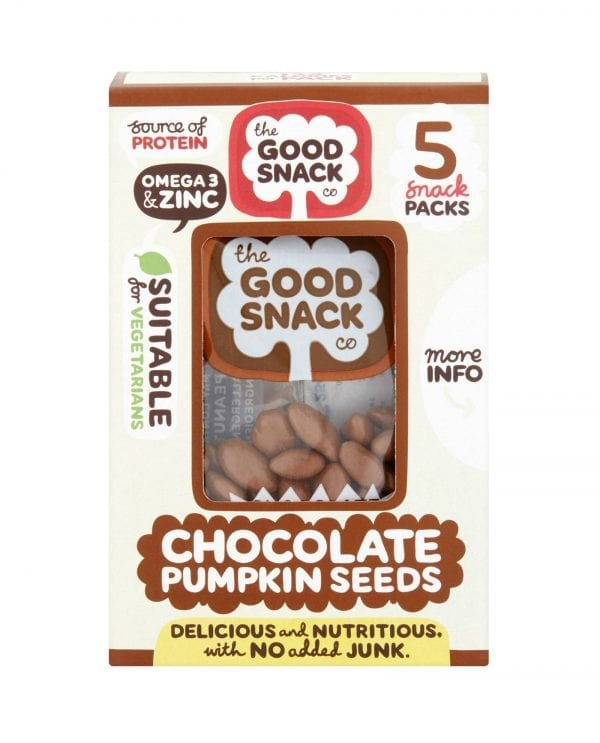 Cholocate Pumpkin Seeds - The Good Snack Company - Multipack