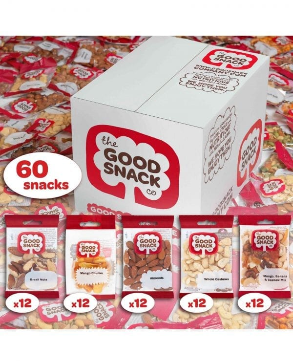 Workplace Snacks - Raw - The Good Snack Company