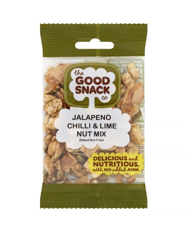Jalapeno Chili and Lime Nut Mix - Healthy Snacks - The Good Snack Company