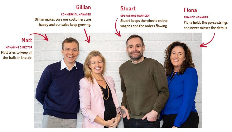 The Good Snack Company Team - Ireland