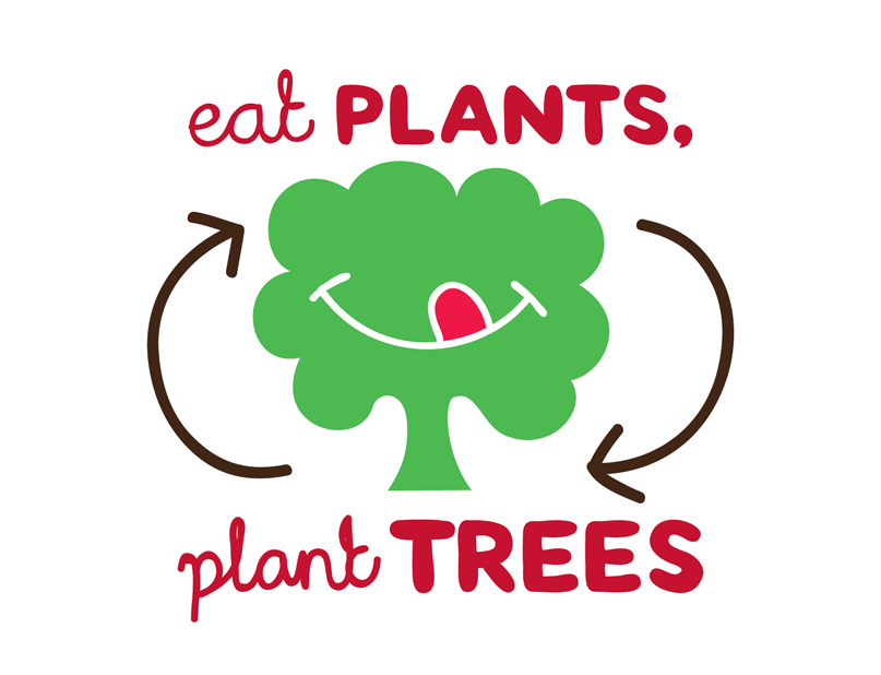 eat plants - plant trees - The Good Snack Company