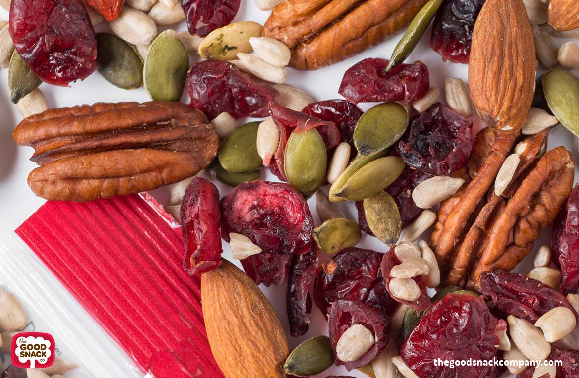 Cranberry, Almond Pecan Snack Mix Special Offer - Healthy Snacks - The Good Snack Co