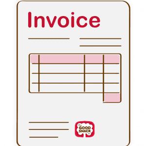 Invoice - The Good Snack Company
