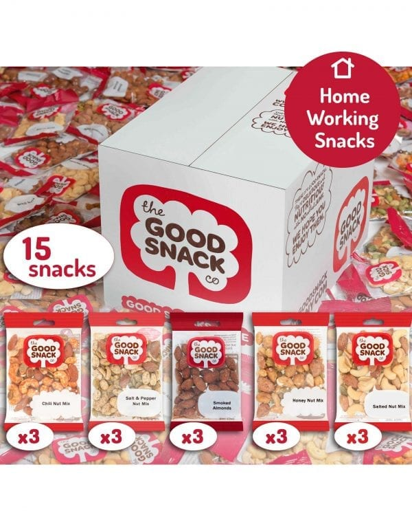 Working from Home - Baked not Fried - The Good Snack Company