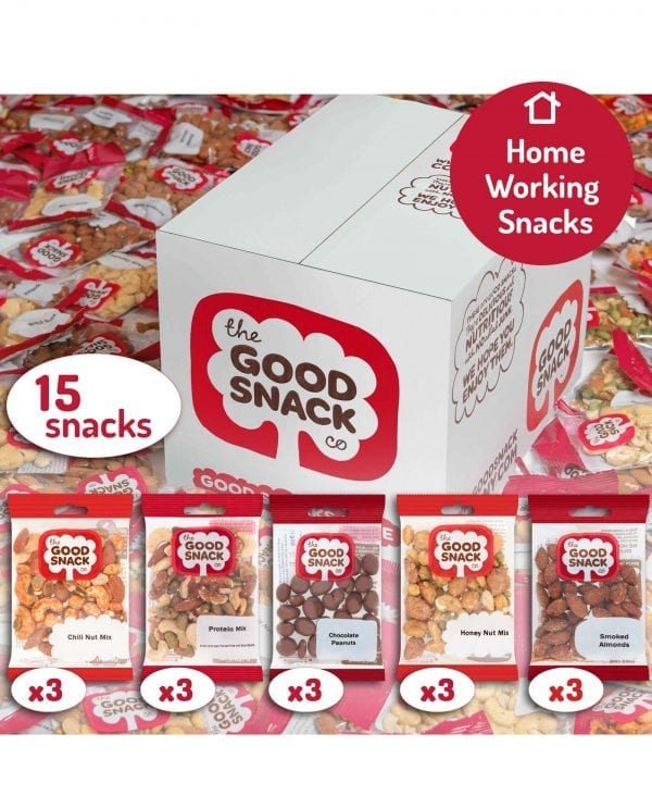 Working from Home - Favourites- The Good Snack Company