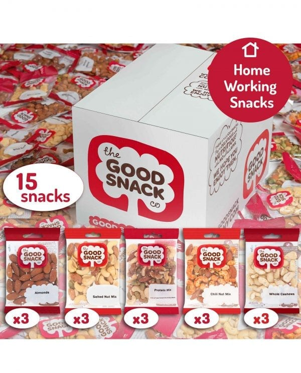 Working from Home - Plant Protein - The Good Snack Company